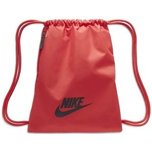Nike Heritage Gymsack backpack Red and Black